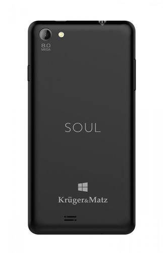 Kruger & Matz Smartfon SOUL 2 black WINDOWS 8.1