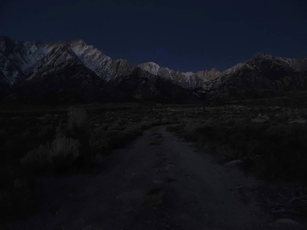 Zdjęcie zrobione bez trybu nocnego