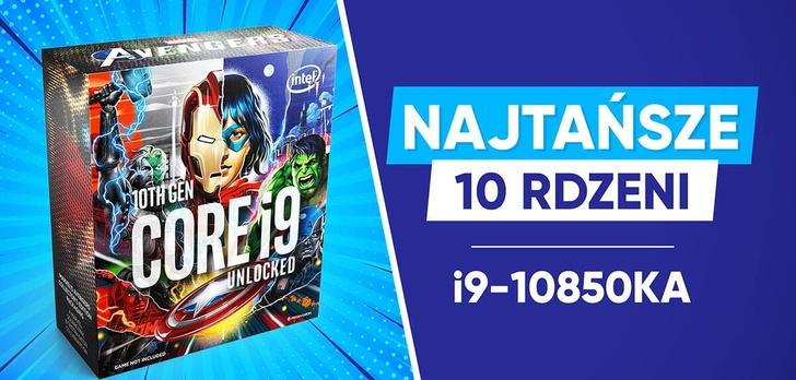Test procesora Intel Core i9-10850KA Avengers Edition  - Najtańsze 10 rdzeni!