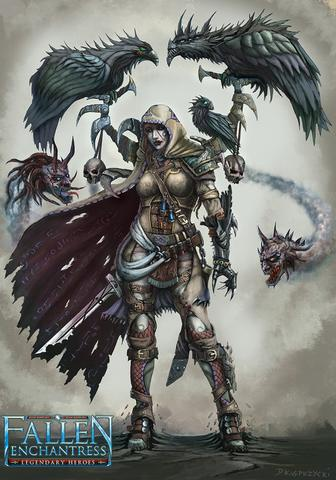 Elemental:Fallen Enchantress - Legendary Heroes