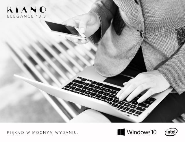 KIANO wprowadza na rynek laptopa Elegance.