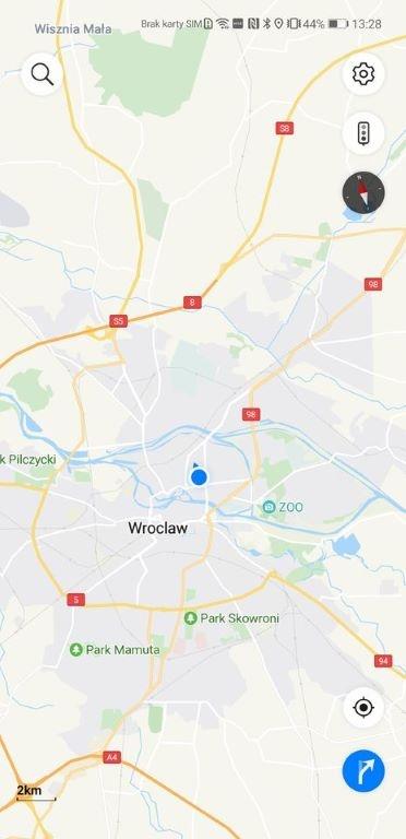 Petal Maps to alternatywa dla Map Google o małej funkcjonalności