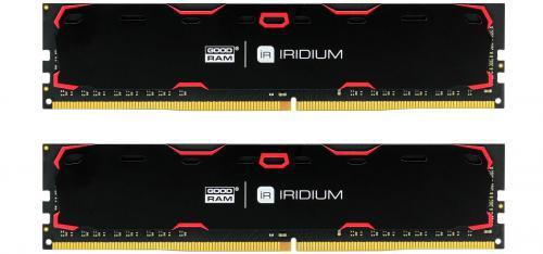 GOODRAM IRDM 16GB czarny [2x8GB 2400MHz DDR4 CL 15-15-15 1024x8 DIMM] ..