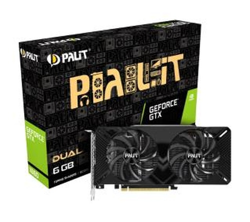 Palit GeForce GTX 1660 Dual 6GB - Raty 0%