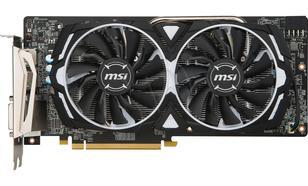 MSI Radeon RX 580 ARMOR 8G OC, 8GB, DL-DVI-D/HDMI2/DP2/ATX (RX 580 ARMOR 8G OC)