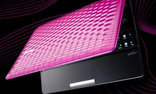 ASUS Eee PC Seashell 1008P - netbook z niebanalnym designem