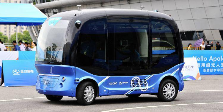 Autonomiczny autobus Apolong