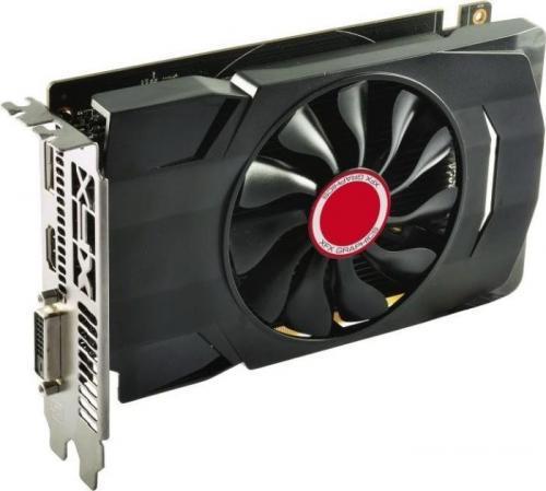 XFX RX 550 4GB GDDR5 1203/7000 Dual Slot (DP HDMI DVI) (RX-550P4SFG5)
