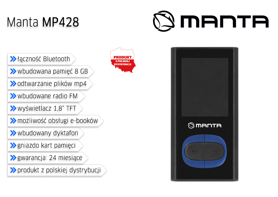 Manta MP428 8GB