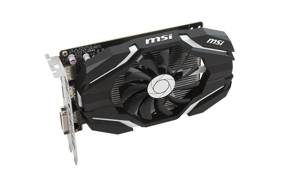MSI GeForce GTX 1050 Ti 4G OC 4GB (GTX1050TI4GOC4GB)