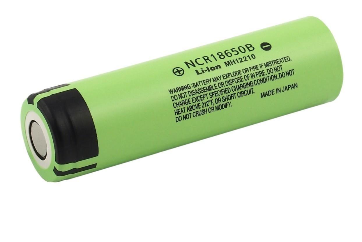 Panasonic 18650 Li-ion 3400mAh (NCR18650B)