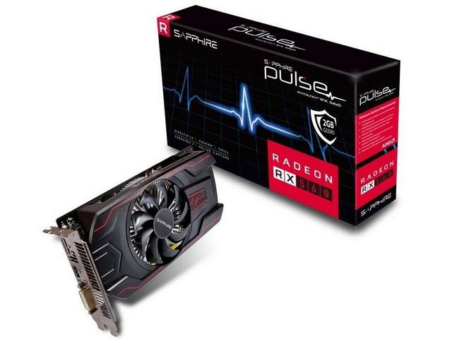 SAPPHIRE PULSE RADEON RX 560 2GB
