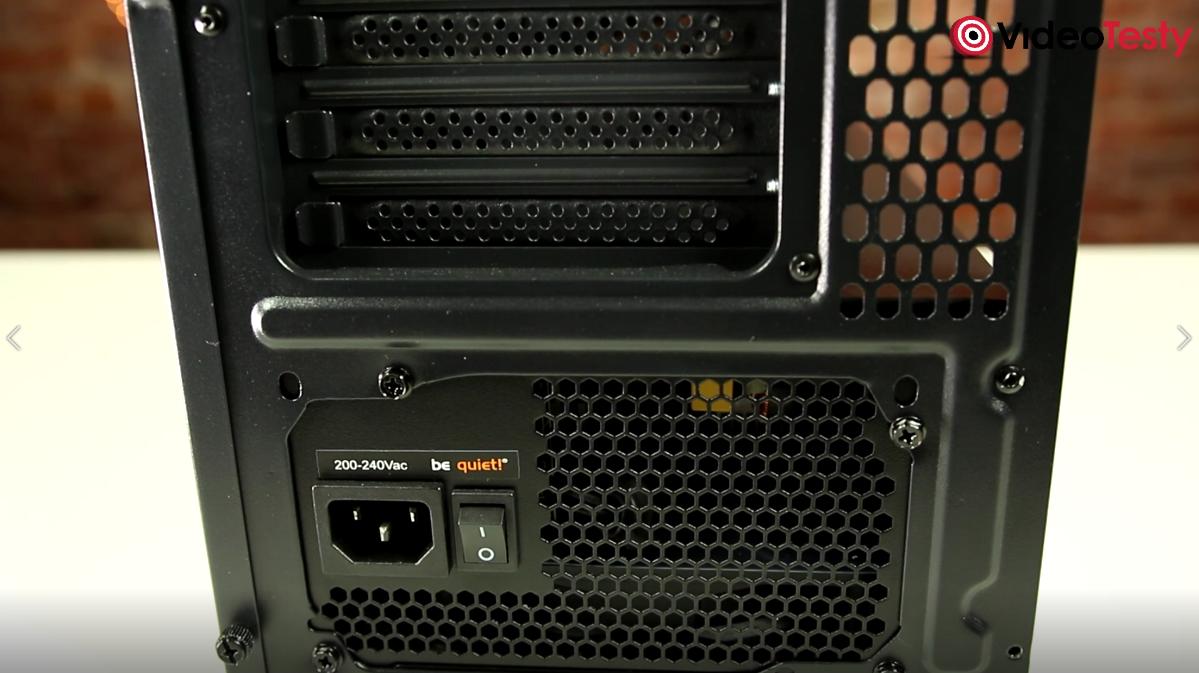 Zasilacz Bequiet w Komputerze PC