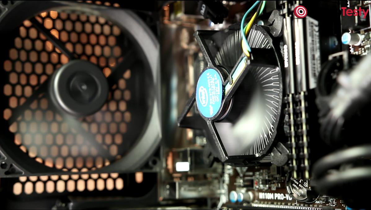 Cooler Intela w Komputerze Morele ELITE G3060