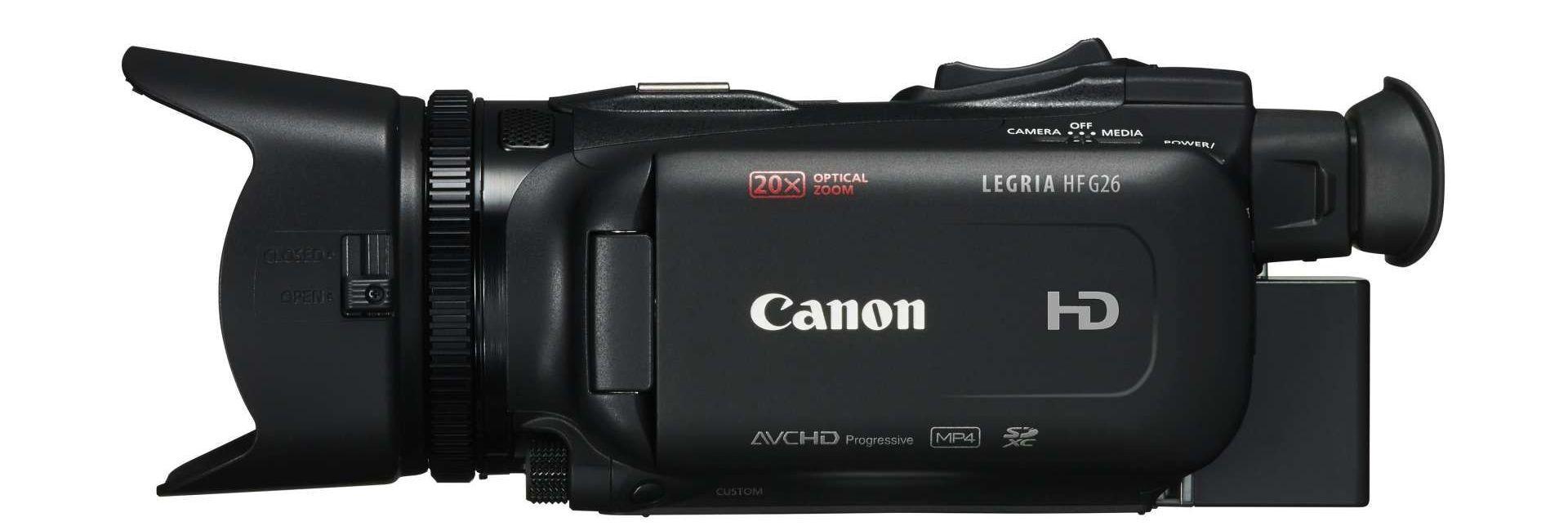 Canon LEGRIA HF G26 z boku