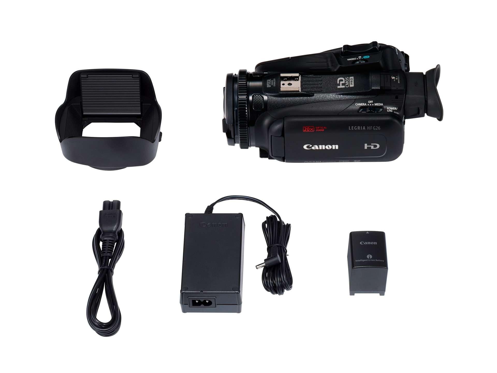 Canon LEGRIA HF G26 zestaw