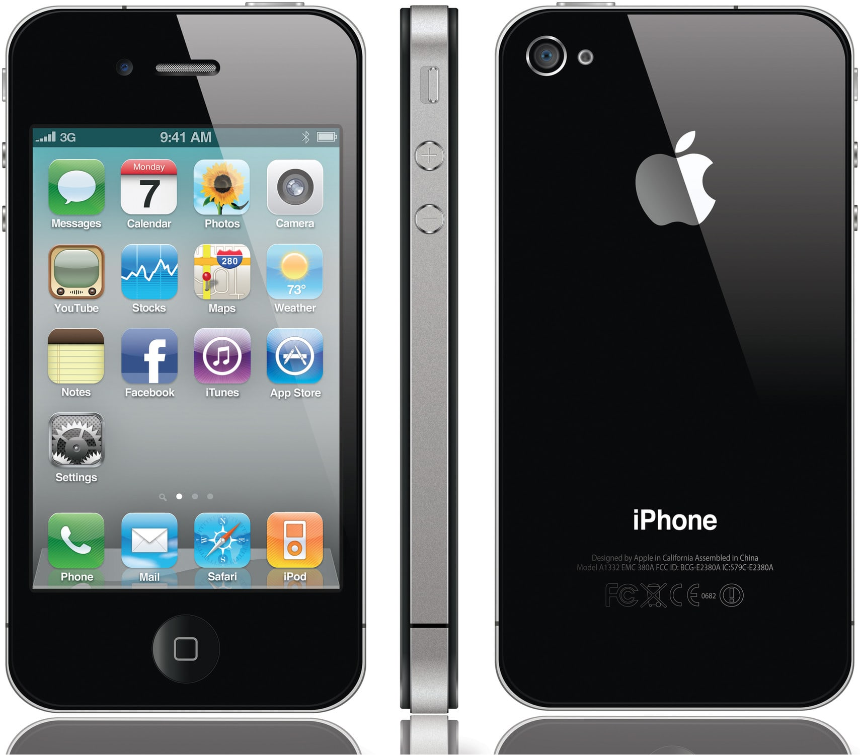 Apple iPhone 4 wygląd
