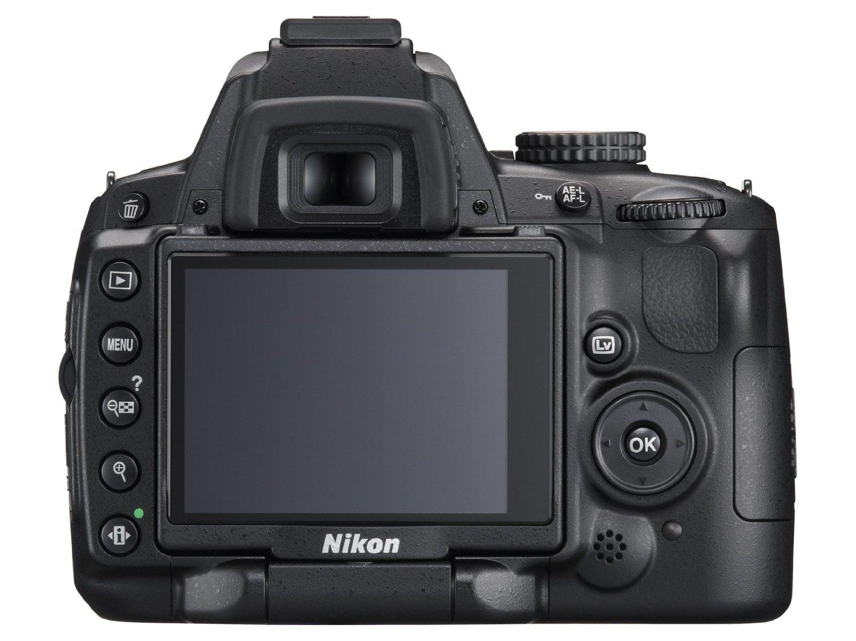 Nikon D5000 tył