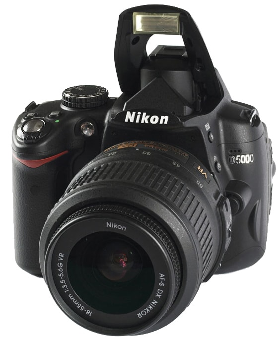 Nikon D5000 wygląd