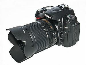 Nikon D90 bok