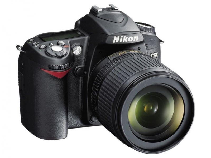 Nikon D90 wygląd