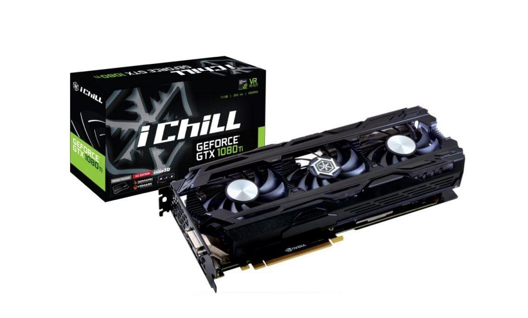 Inno3D iChill GeForce GTX 1080 Ti X3 w pełnej okazałości.