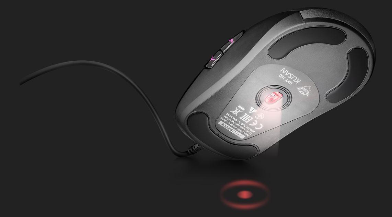 Mysz GXT 180 to przede wszystkim zaawansowany sensor.
