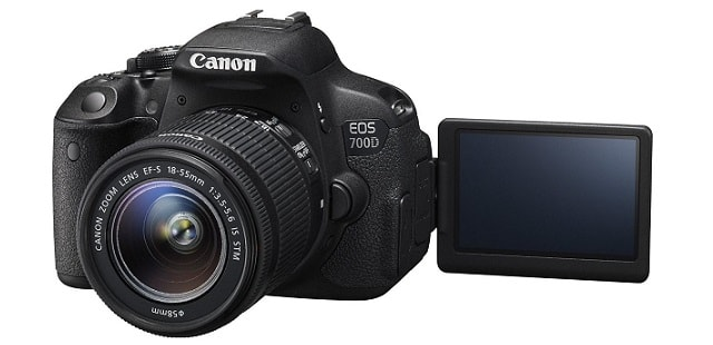 Canon EOS 700D Czarny + 18-55mm design