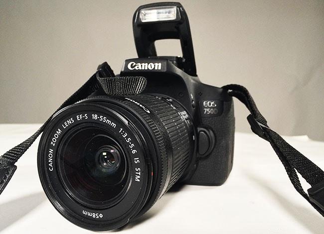 Canon EOS 750D wygląd