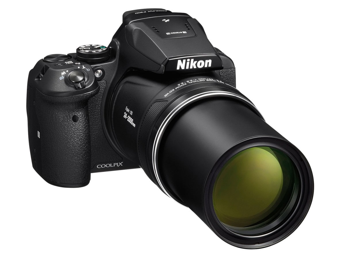 Nikon COOLPIX P900 design