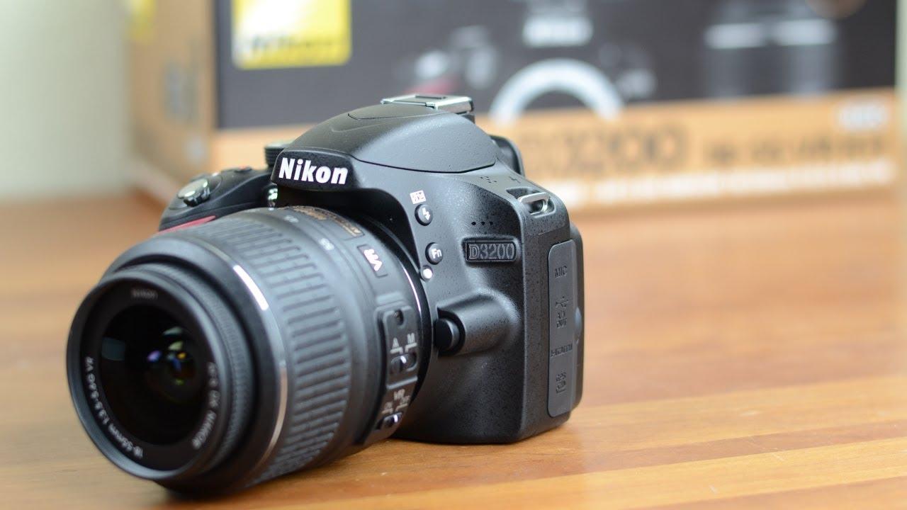 Nikon D3200 wygląd