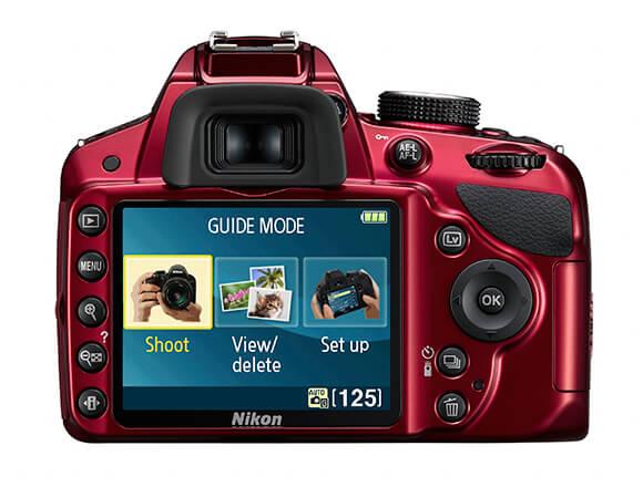 Nikon D3200 wyświetlacz