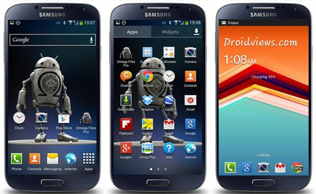 SAMSUNG I9505 GALAXY S4 LTE design