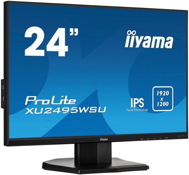 ProLite XU2495WSU-B1 to świetny monitor do pracy.