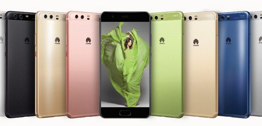 Kolory Huawei P10