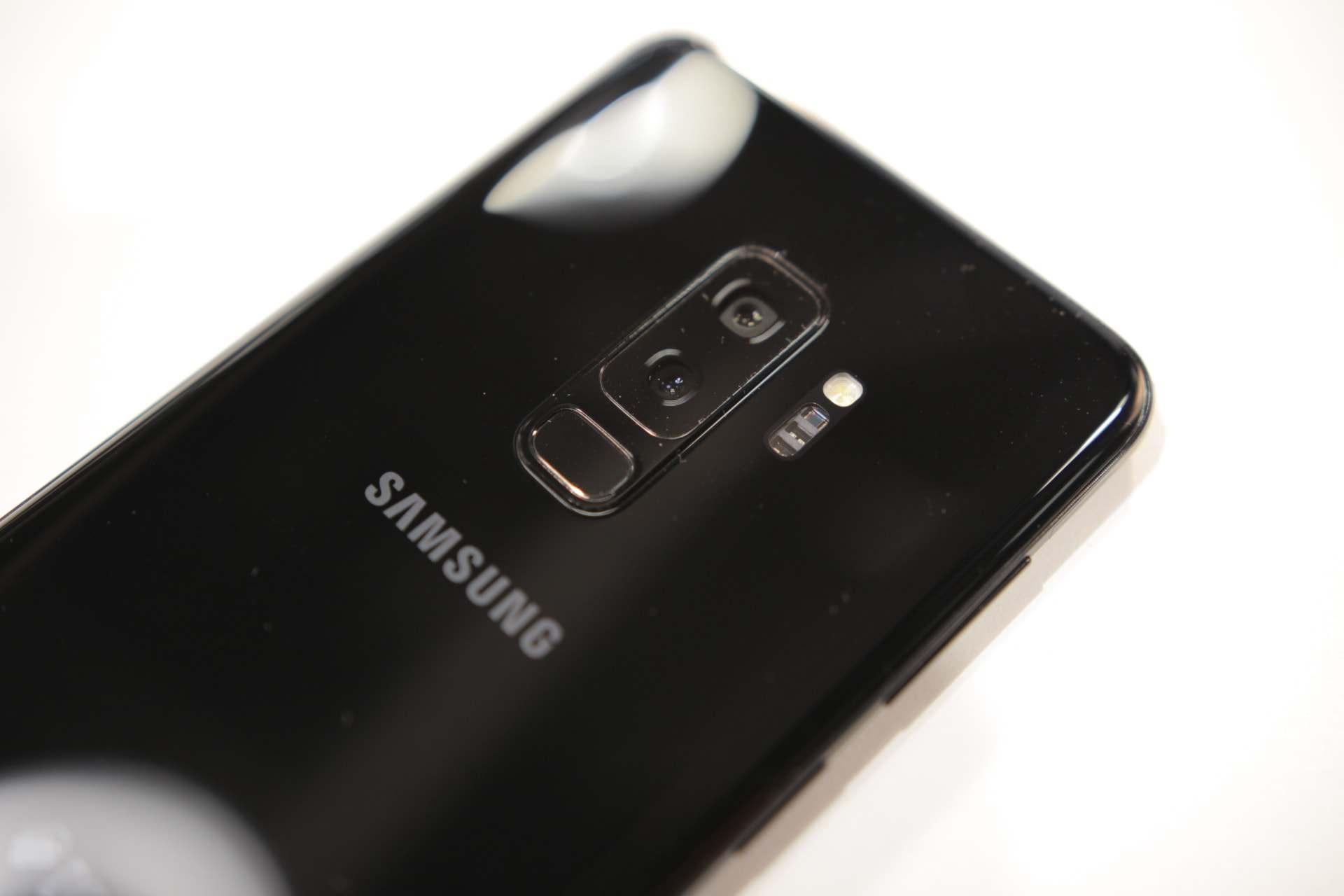 Aparat w Samsung Galaxy S9+