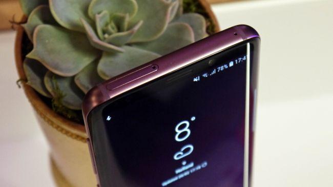 Porty i wejścia Samsung Galaxy S9