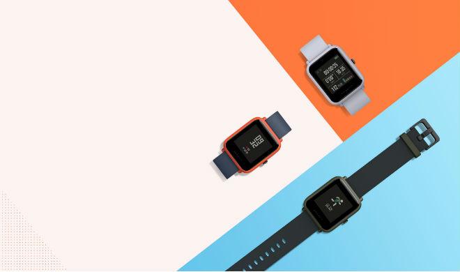 Zegarki Amazfit w różnych wariantach.