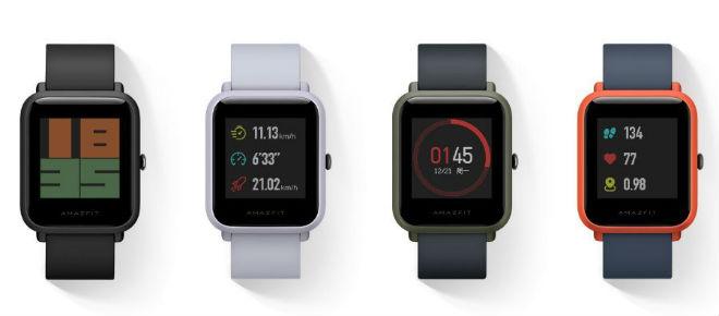 Wersje kolorystyczne smartwatch od Xiaomi.