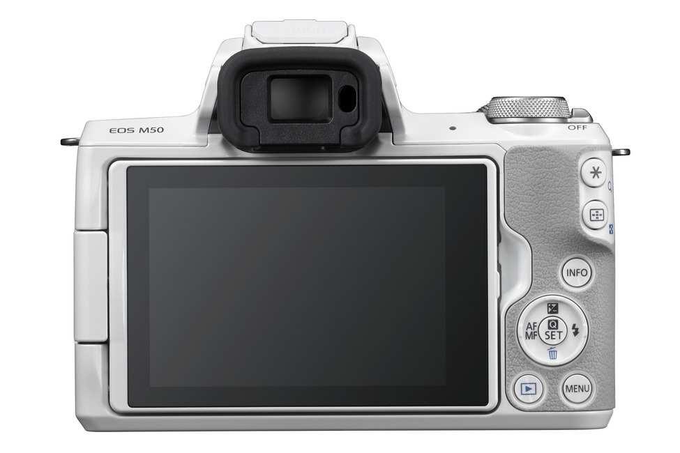 CanonEOS M50 tył.