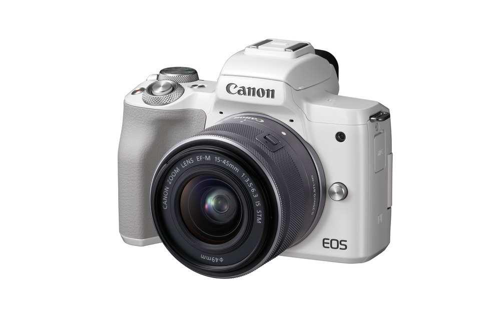 CanonEOS M50 wersja srebrna.