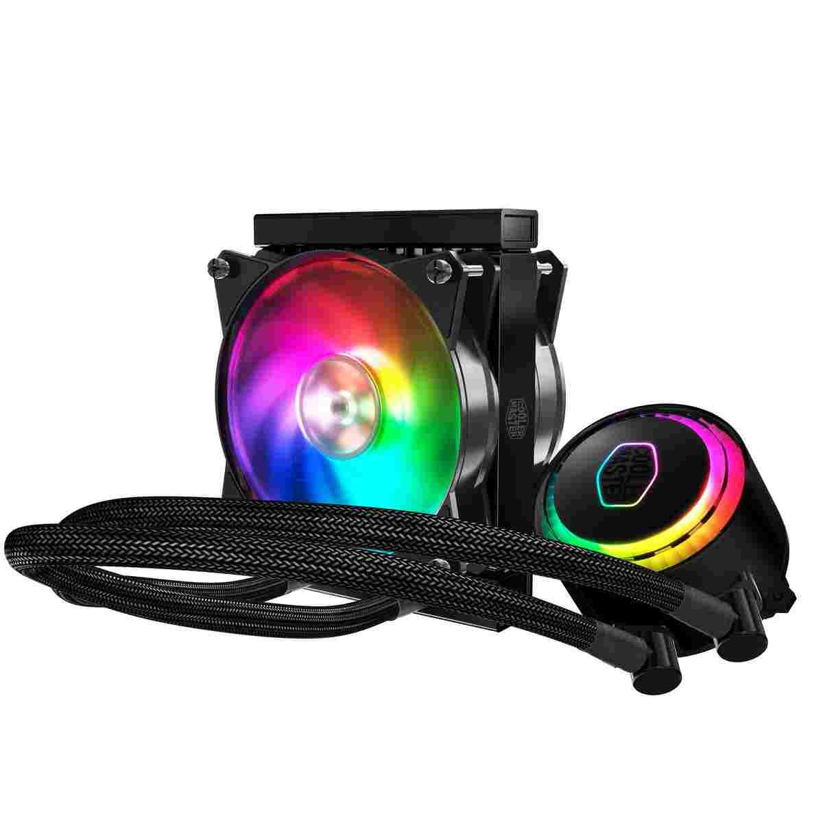 Cooler Master MasterLiquid 120R RGB to dobre chłodzenie wodne.