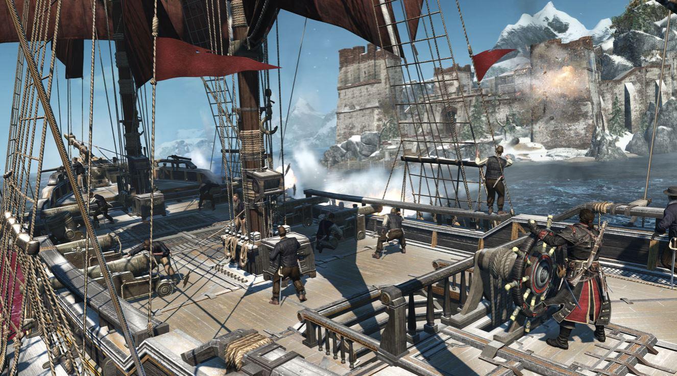 Ubisoft Assassin's Creed Rogue Remastered to odświeżona wersja mało udanej gry.