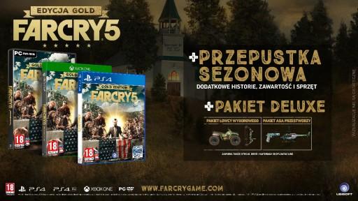 Ubisoft Far Cry 5 ma otwarty świat gry.