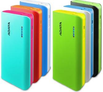 Adata PT100 10000mAh (APT1005VCBLWH) różne kolory