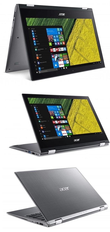 Acer Spin 1 (NXGRMEP002) wygląd