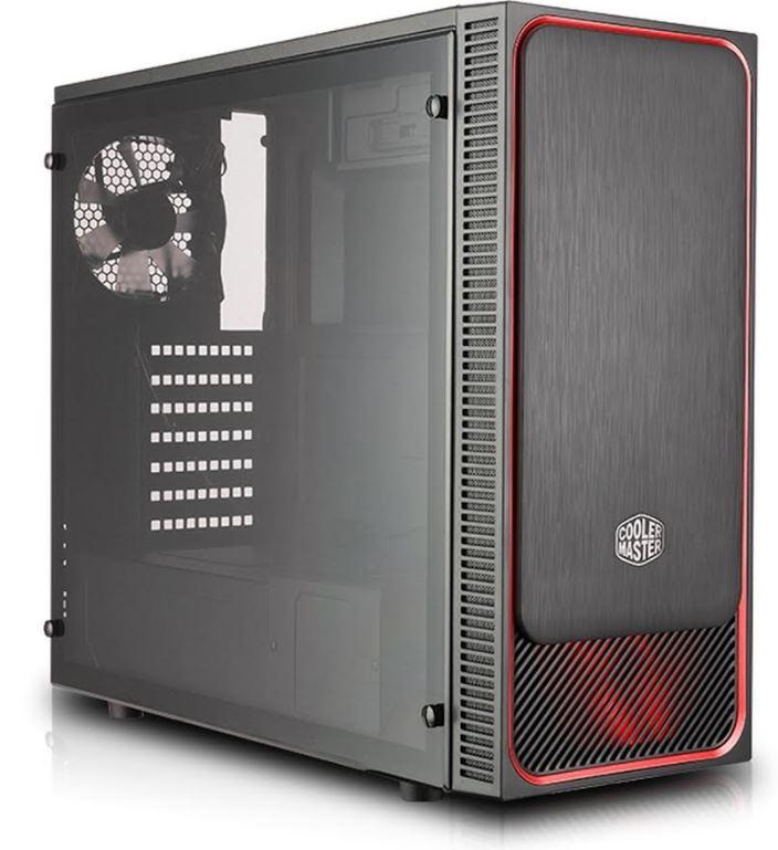 Obudowa E500L pozwoli na wyeksponowanie swoich komponentów.