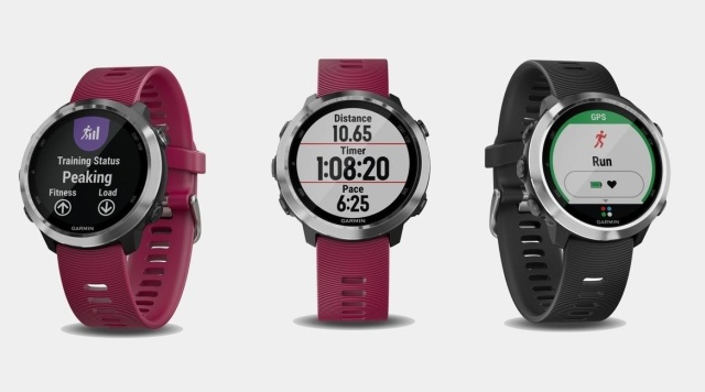 Garmin Forerunner 645 Music obsługuje Garmin Pay.