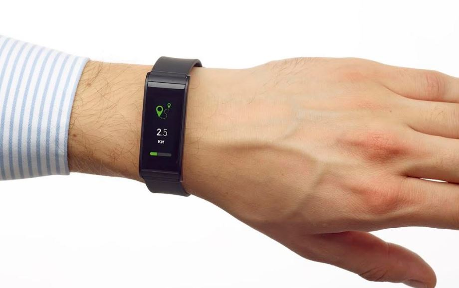 Tak prezentuje się zegarek na ręce.