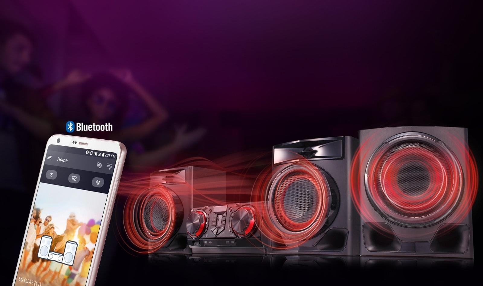 LG CJ45 aplikacja mobilna